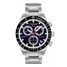 TISSOT PRS 516 T044.417.21.041.00 CHRONOGRAPH MENS WATCH STAINLESS STEEL QUARTZ