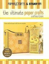 The Ultimate Paper Crafts Collection, Croninger, Stacy (Editor), Acceptable Book