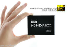 Mini 1080P HD Media Player Hub for TV: HDMI USB SD AV:  H.264 MKV Divx Xvid Avi