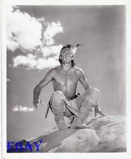 Rock Hudson barechested  VINTAGE Photo Tarzan Son Of Cochise