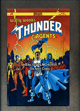 B39 1984 Wally Wood's Thunder Agents #1 Signed by George Perez w/CoA Deluxe C1