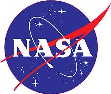 "NASA Logo 6"" PREMIUM VINYL DECAL BUMPER STICKER Space Insignia"
