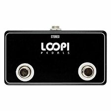 Dual Momentary Switch Footswitch - Big Foot Version - Loopi Pedals
