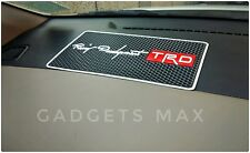 Super Antiskid Cushion Dashboard Mat ( RACING TRD ) With Strong Stickness