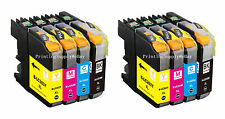 8PK Hi-Yield Ink For Brother LC203 XL MFC-J5620DW J5625DW J4320DW New Gener Chip