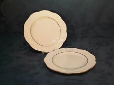 Rosenthal Classic Rose Collection Gold Trim 16 cm Tea / Side Plate x 2 (E)
