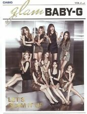 CASIO BABY-G 2014 Vol.4 OFFICIAL BIG POSTER with GIRLS' GENERATION SEXY SNSD