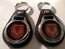 TRANS AM GTA KEYCHAINS 2 PACK CLASSIC MUSCLE CAR FOB KEY
