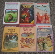 Lot 6 Choose Your Own Adventure Books Endless Quest Dungeons & Dragons
