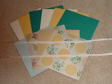 STAMPIN UP TEA FOR TWO CARD KIT RIBBON *6* BRAND NEW 2013 CATALOG LIMITED