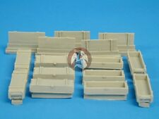 Tank Workshop 1/35 105mm Howitzer Artillery Ammunition Boxes Top Opening 350127