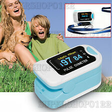 OLED Pulsossimetro Pulsoximetro Ossimetro SPO2 Finger Tip Pulse Oximeter CMS50N