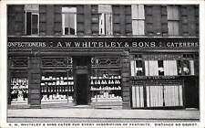 Huddersfield. A.W.Whiteley & Sons, Confectioners & Caterers Shop.