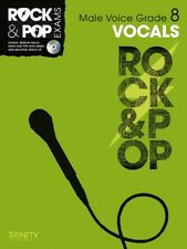 Trinity Rock & Pop Exams: Vocals Grade 8 (Male Voice) (With Free Audio CD) (She.