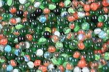 150 PCS 5/8 DIAMETER MIXED PLAYER MARBLES ASSORTED COLORS AND STYLES ITEM 1047
