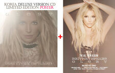 BRITNEY SPEARS - GLORY (KOREA DELUXE CD + FOLDED POSTER / NEW LIMITED EDITION)