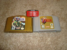 Legend of Zelda: Majora's Mask & Ocarina of Time Expansion (Nintendo 64) LOT