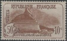 """FRANCE STAMP TIMBRE N° 230 """" ORPHELINS 50c+10c LION BELFORT """" NEUF xx TTB K191A"""