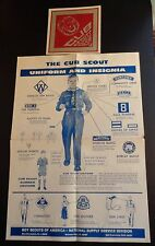 Cub Scout Uniforms and Insignia National Supply Illustrated w Decal