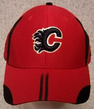 Embroidered Baseball Cap Sports NHL Calgary Flames NEW 1 hat size fit all Reebok