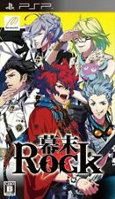 Used PSP Bakumatsu Rock  SONY PLAYSTATION JAPAN IMPORT
