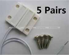 5 Sets Door Or Window Contact Magnetic Reed Switch Alarm