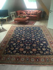 Feiner persischer Orientteppich Teppich 233 x 313 cm blau Täbris Teppich Isfahan