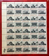 1981 US Stamps #1928-31 18c Architecture. Sheet of 40 MNH