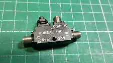 NORSAL INDUSTRIES 10dB DIRECTIONAL COUPLER . 14238-10