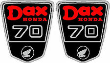 Honda CT70 DAX,  Frame Decals L&R Side, , Side Badges,  Graphics, Stickers