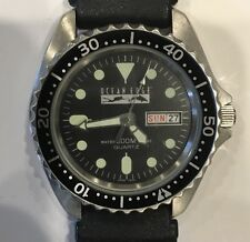OCEAN EDGE DIVERS WATCH - NO BAND - WATER RESISTANT 200 METERS