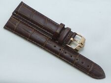 WRIST WATCH LEATHER STRAP FOR OMEGA WATCH CONDITION AS GOOD AS 60%