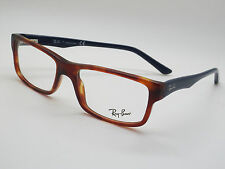 NEW Authentic Ray Ban RB 5245 5609 Tortoise/Blue 52mm RX Eyeglasses