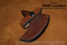 Handcrafted Leather Sheath Mask Cover for Genuine Norlund Voyageur Hatchet