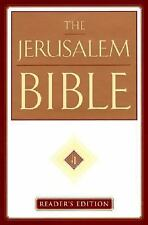 The New Jerusalem Bible : Leather Edition by Henry Wansbrough (1999, Hardcover)