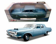 Maisto 1963 Dodge 330 1:18 Diecast Car Model Special Edition