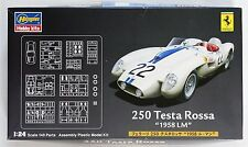 HASEGAWA 1/24 Ferrari 250 Testa Rossa '58 Le Mans w/photo-etched parts model kit