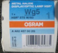 1 * OSRAM HSR 575w/60 6000k gx9, 5 Lampadina Nuovo & Scatola originale fattura