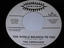 The Coronados: The World Belongs To You / She's My Girl 45