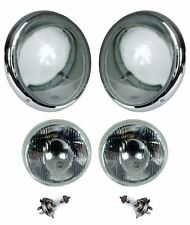BEETLE US Spec Headlight Kit, Pair, T1/T2 -67, Inc Indicator, Repro - 111941998