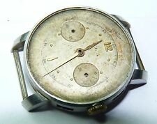 Vintage DOXA MANUAL WIND CHRONOGRAPH WATCH FOR PARTS REPAIR PROJECT