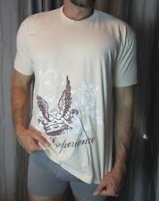 Men's Tan American Apparel Graphic T-Shirt XL Preowned NICE!
