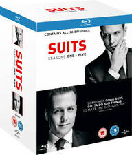 Suits - The complete Season 1-5 (Blu-ray) *BRAND NEW*