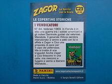 Figurine Panini Zagor Card n.23 Panini Zagor Card C23