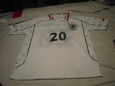 BIERHOFF 20 Deutscher FUSSBALL COPIA NON CONFORME ALL ORIGINALE Jersey Size XL