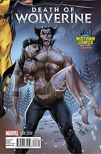 DEATH OF WOLVERINE 2 RARE MIDTOWN CAMPBELL VARIANT CONNECTING NM