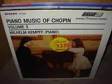 KEMPFF / CHOPIN sonata no 2 & no 3 ( classical ) - SEALED NEW -