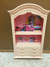 Barbie My Scene Accessory Shelf Wardrobe Cabinet Boutique Shop Store Furniture