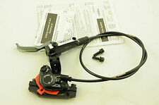 SHIMANO DEORE HYDRAULIC DISC M-596 LEFT HAND BRAKE LEVER & FRONT CALIPER CABLE
