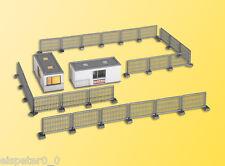 Edificio h0-contenedor Strabag con iluminación LED, kit 1:87, 48627 Kibri